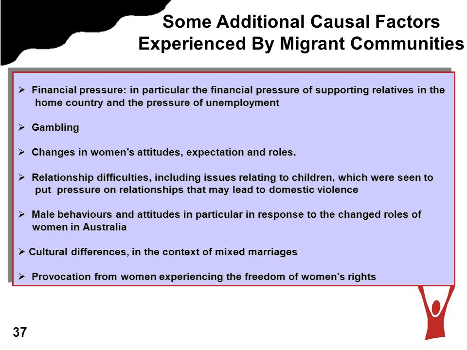 Some Additional Causal Factors Experienced By Migrant Communities