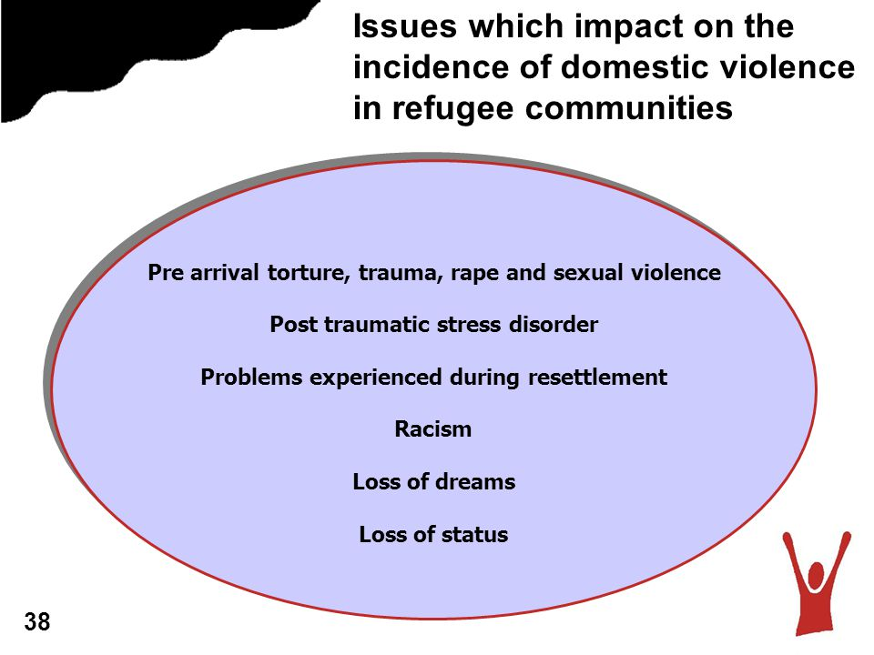 Issues which impact on the incidence of domestic violence