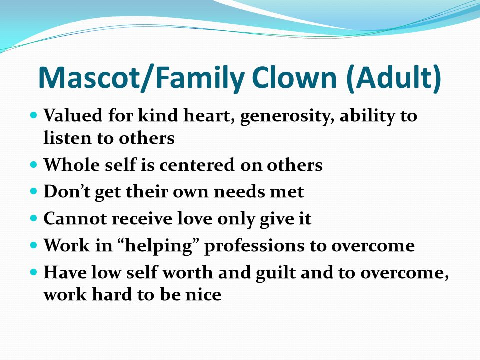 Mascot/Family Clown (Adult)