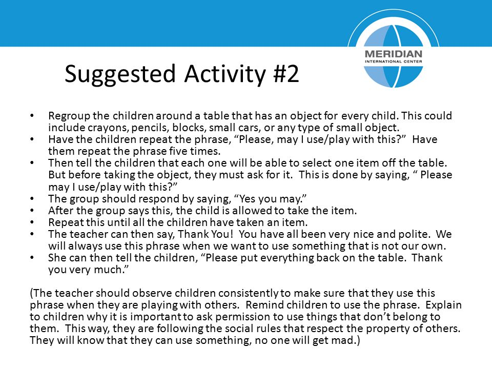 Suggested Activity #2
