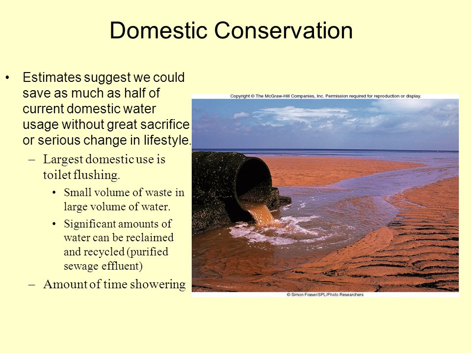 Domestic Conservation