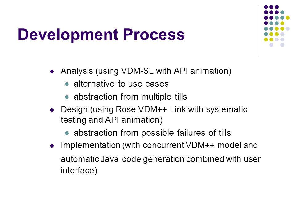 Development Process alternative to use cases