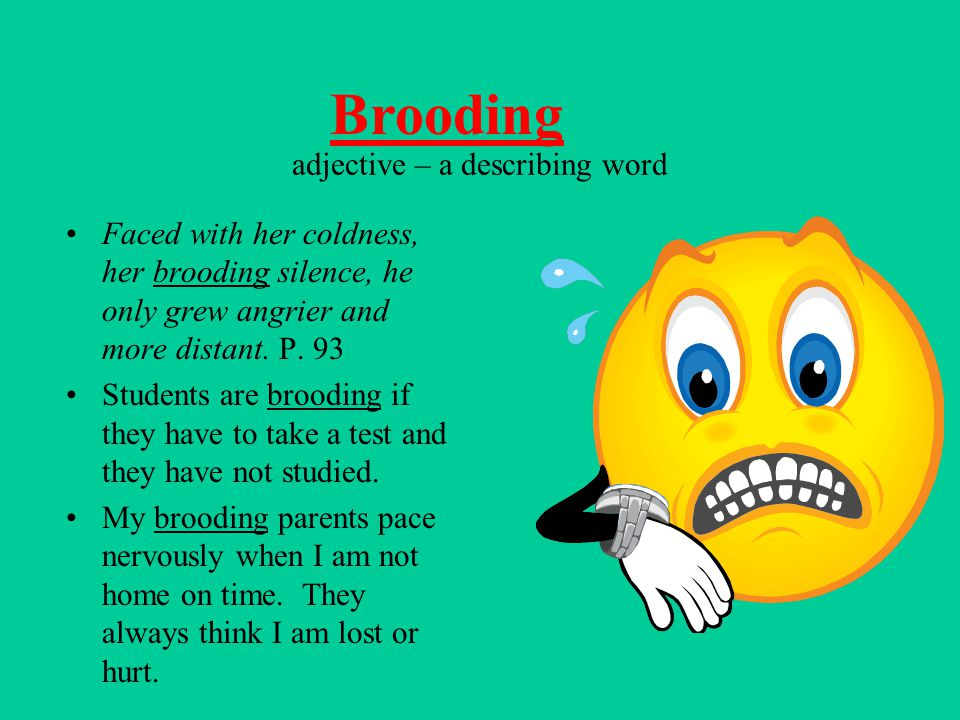 adjective – a describing word
