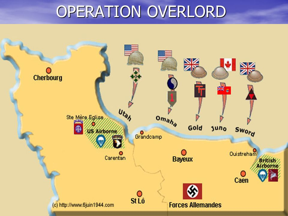 OPERATION OVERLORD: THE ALLIED INVASION OF NORTHWESTERN EUROPE - ppt video online download