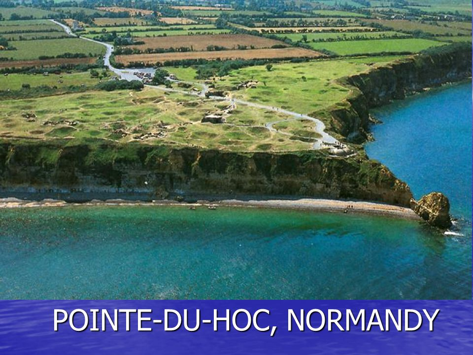 POINTE-DU-HOC, NORMANDY