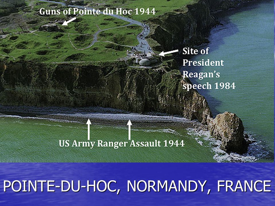 POINTE-DU-HOC, NORMANDY, FRANCE