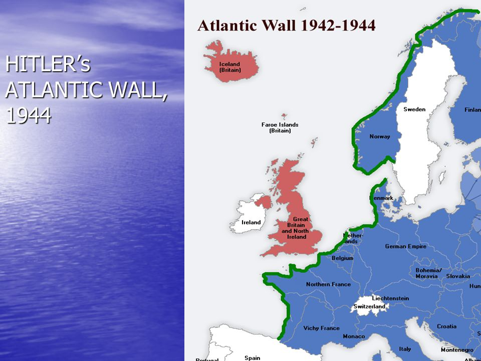 HITLER's ATLANTIC WALL, 1944