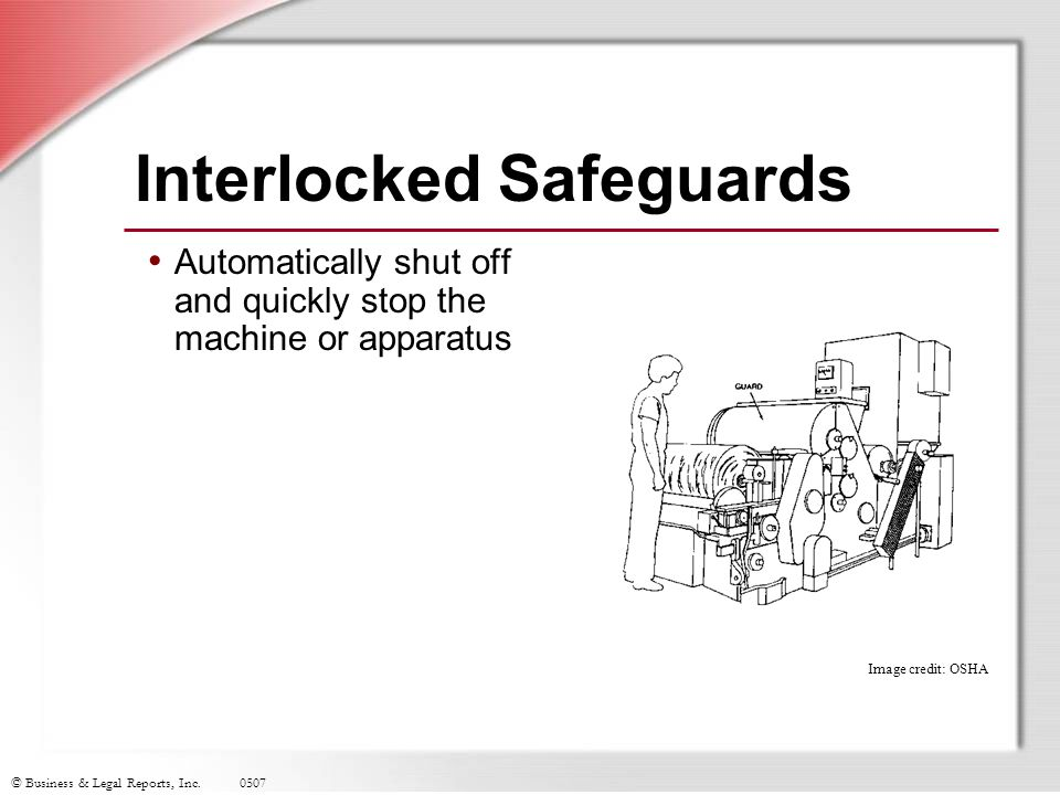 Interlocked Safeguards