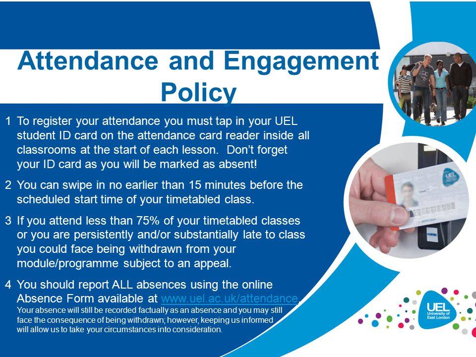 Attendance and Engagement Policy