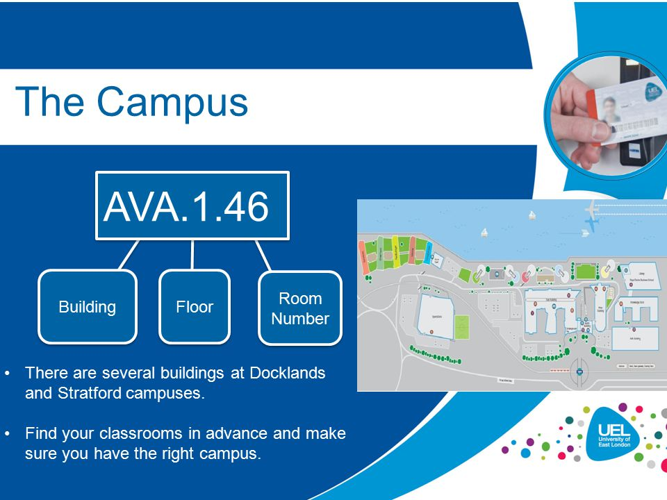 The Campus AVA.1.46 Building Floor Room Number
