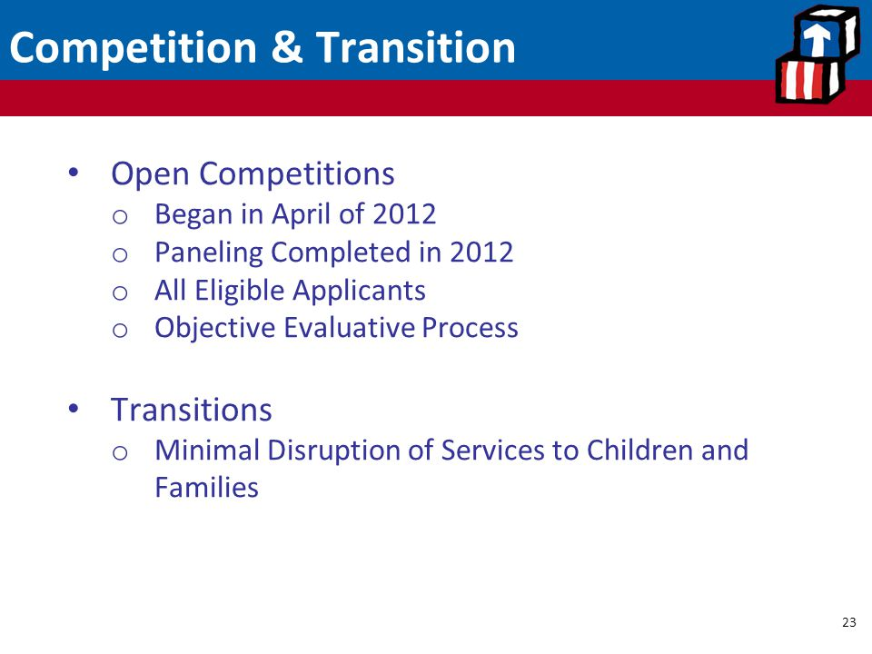 Competition & Transition