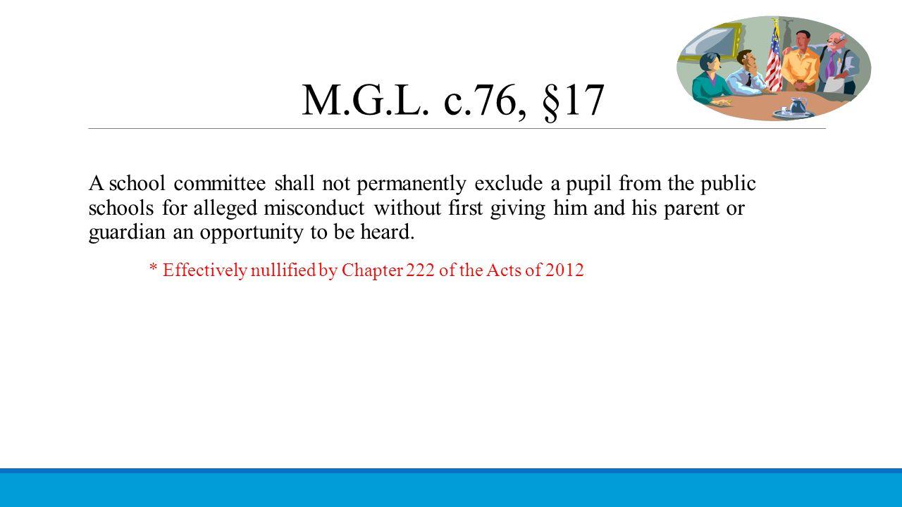 M.G.L. c.76, §17