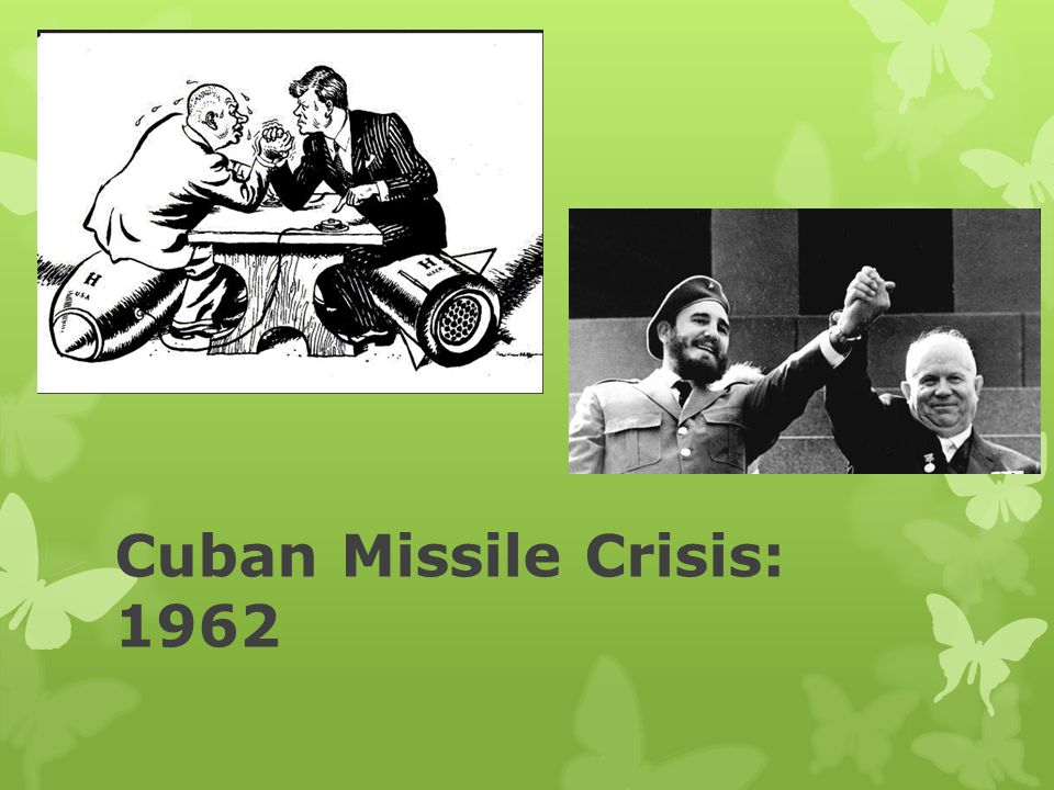 the major reasons for the cuban missile crisis Start studying cold war / cuban missile crisis 1959-1962 learn vocabulary, terms, and more with flashcards, games, and other study tools.