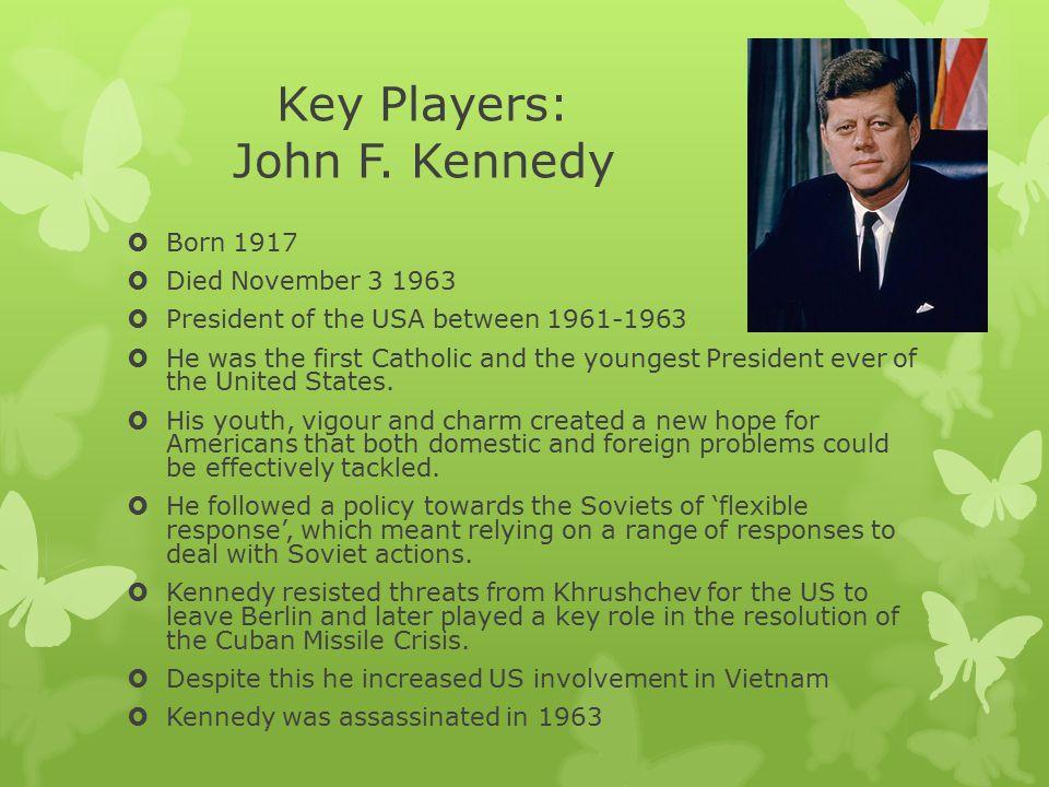 Key Players: John F. Kennedy