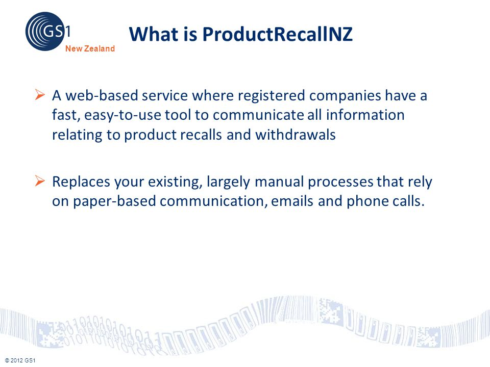 What is ProductRecallNZ