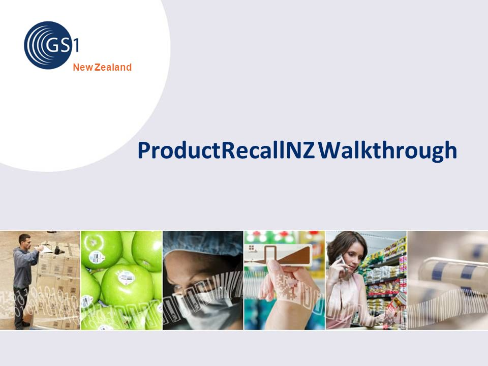 ProductRecallNZ Walkthrough