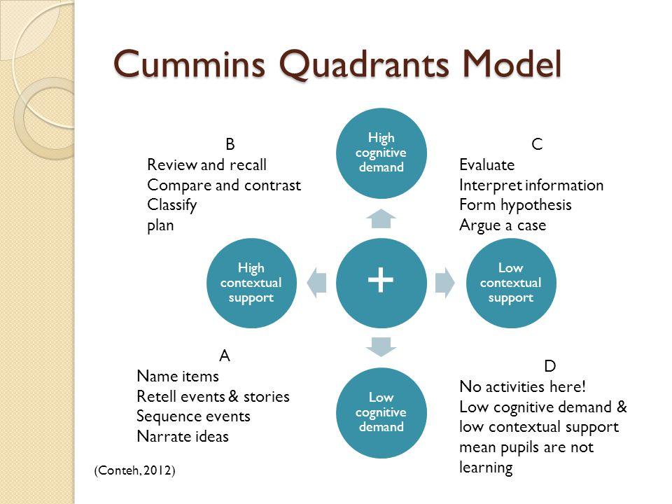 Cummins Quadrants Model