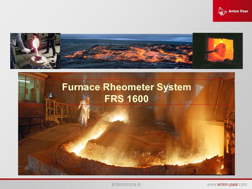 Furnace Rheometer System FRS 1600