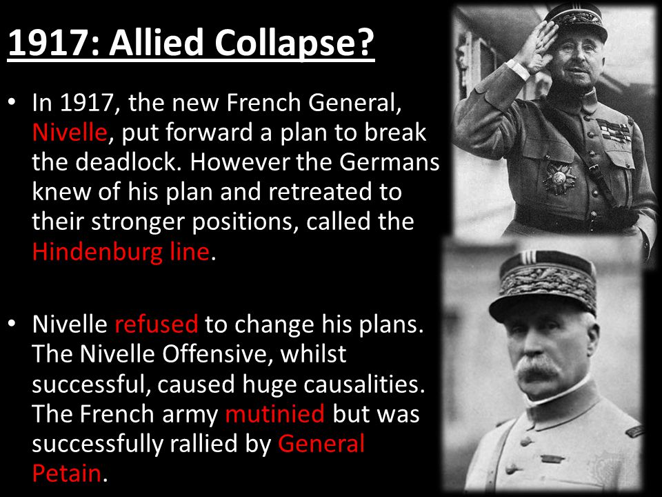 1917: Allied Collapse