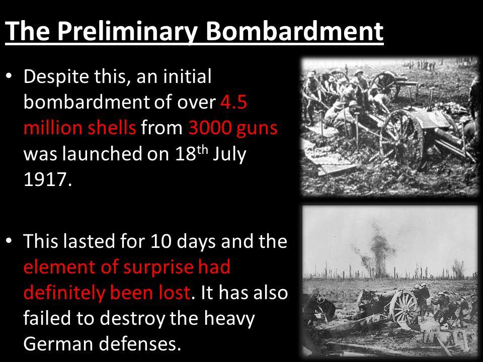 The Preliminary Bombardment