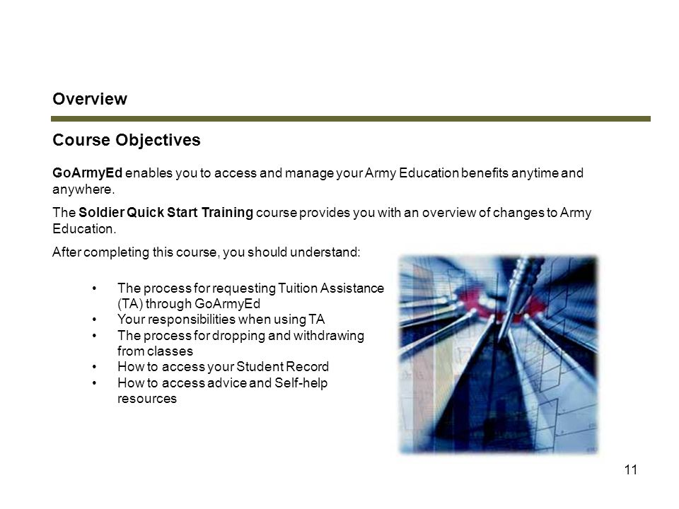 Overview Course Objectives Introduction
