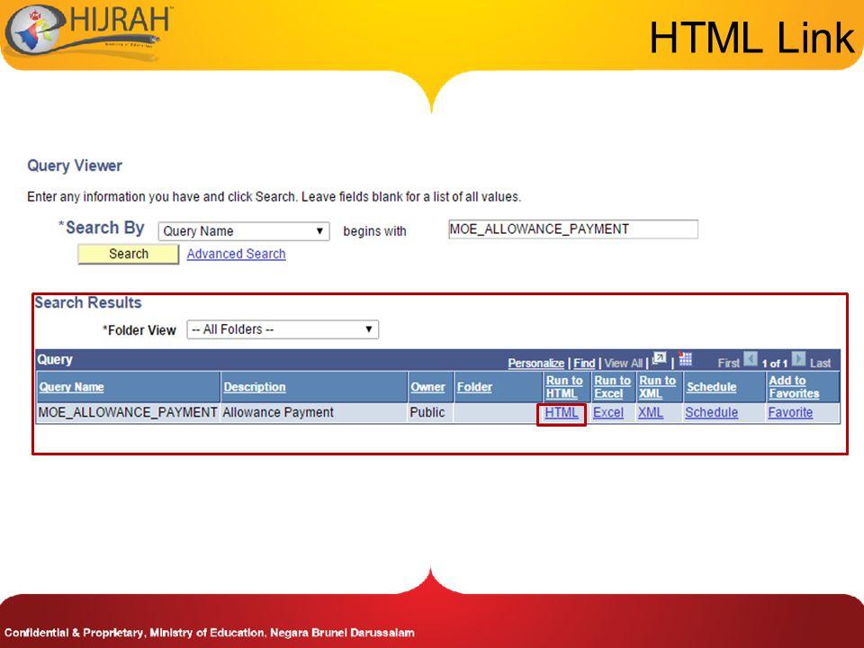 HTML Link