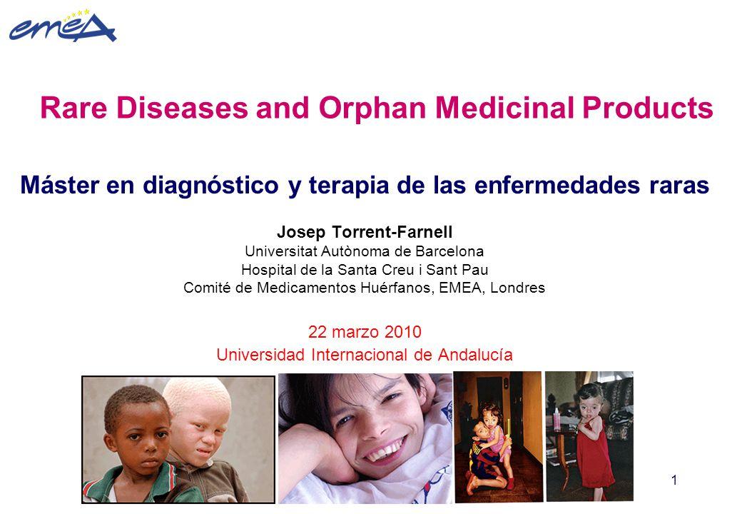 Rare Diseases and Orphan Medicinal Products