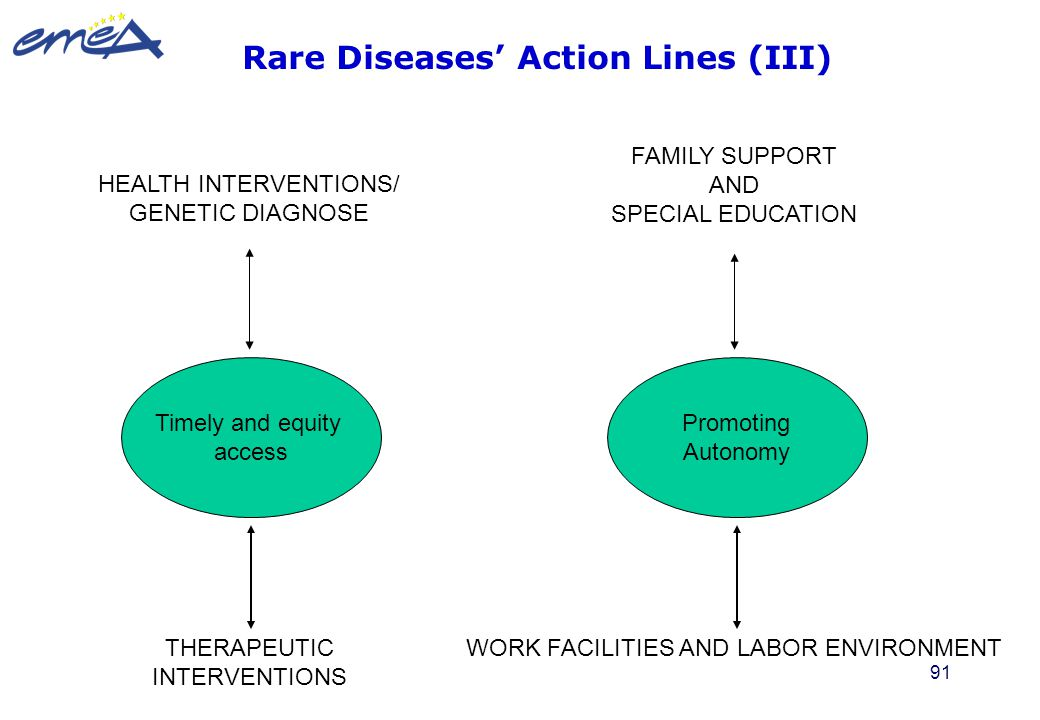 Rare Diseases' Action Lines (III)