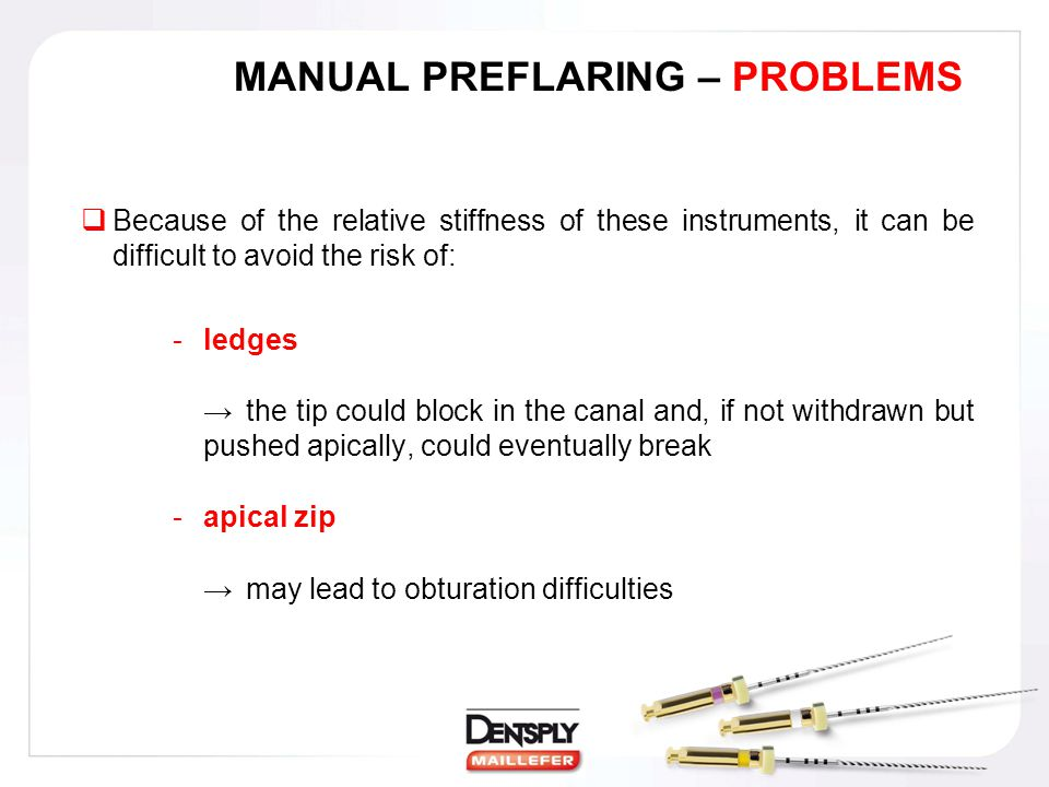 MANUAL PREFLARING – PROBLEMS