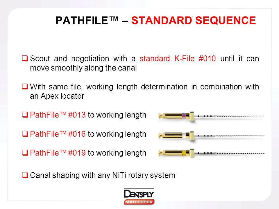 PATHFILE™ – STANDARD SEQUENCE