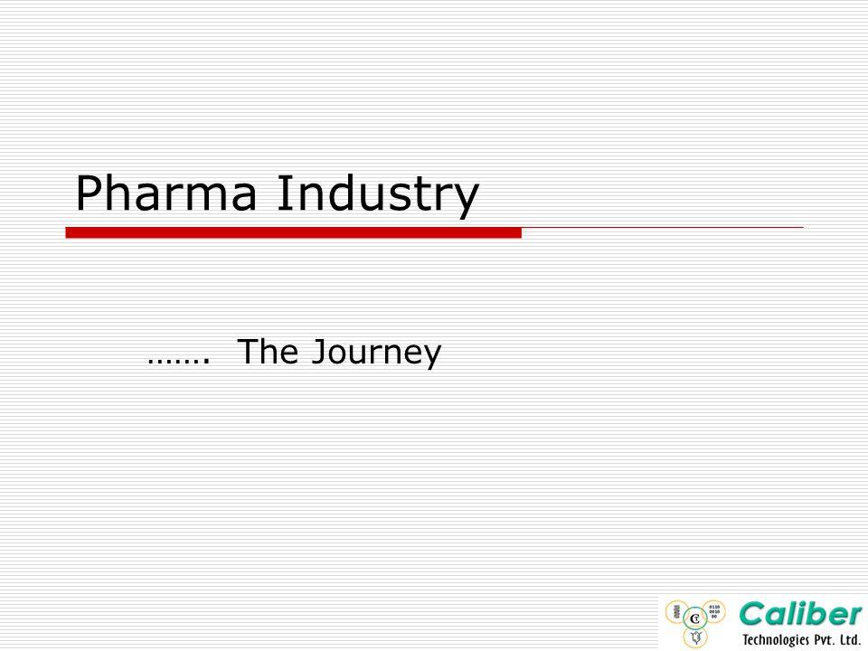 Pharma Industry ……. The Journey