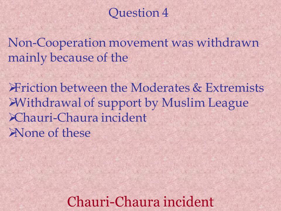 Chauri-Chaura incident
