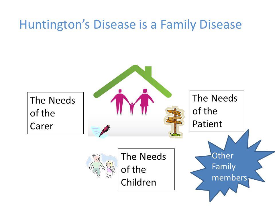 Huntington's Disease is a Family Disease