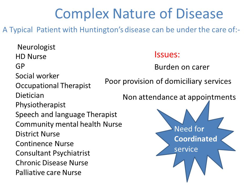 Complex Nature of Disease