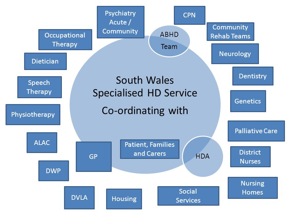 South Wales Specialised HD Service Co-ordinating with