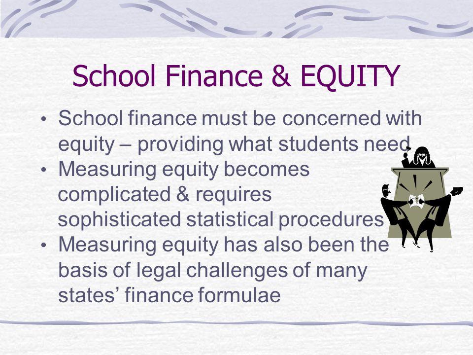 School Finance & EQUITY