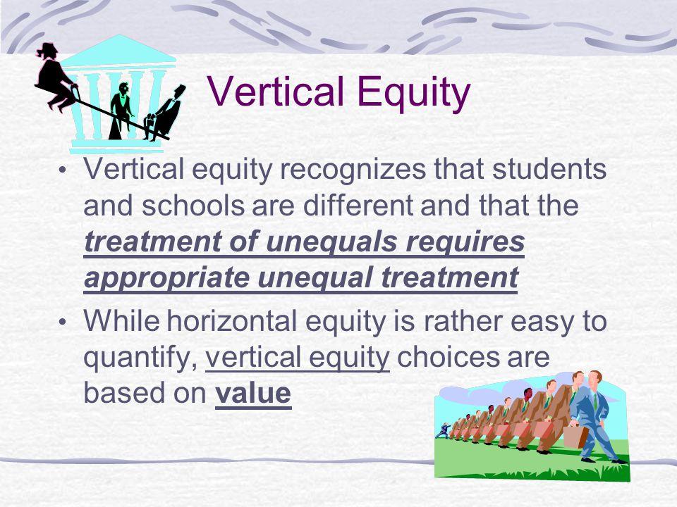 Vertical Equity