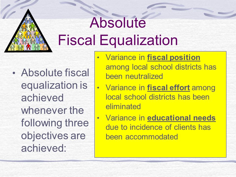 Absolute Fiscal Equalization