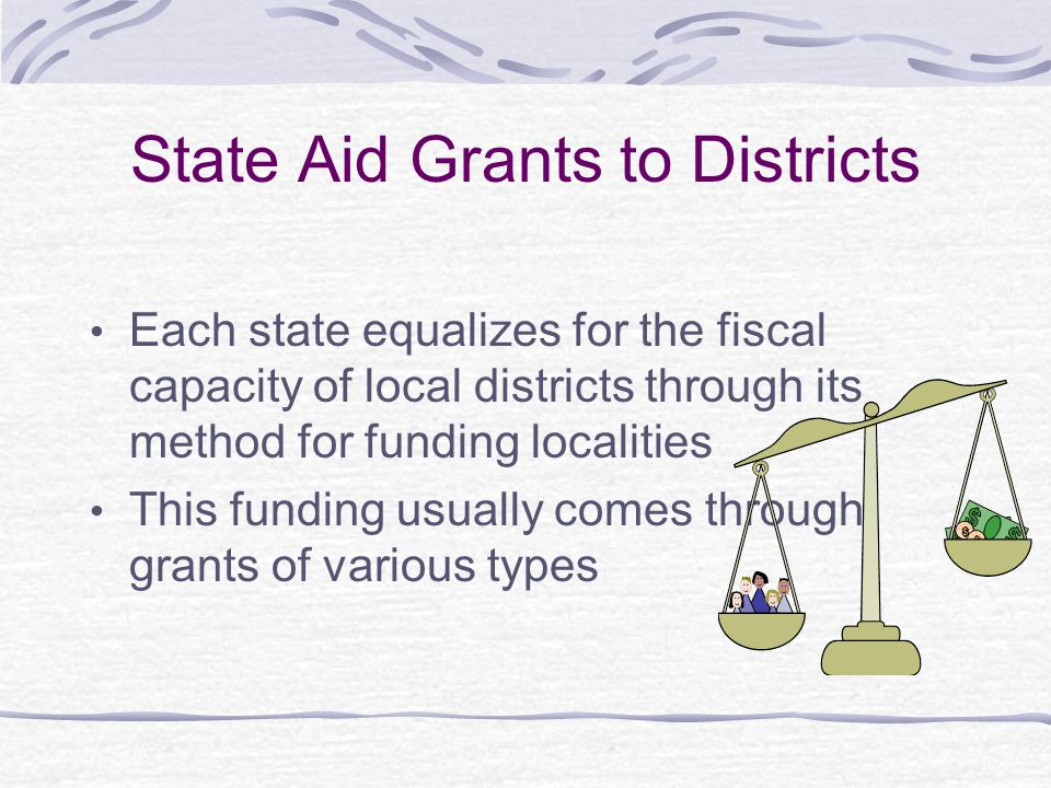 State Aid Grants to Districts