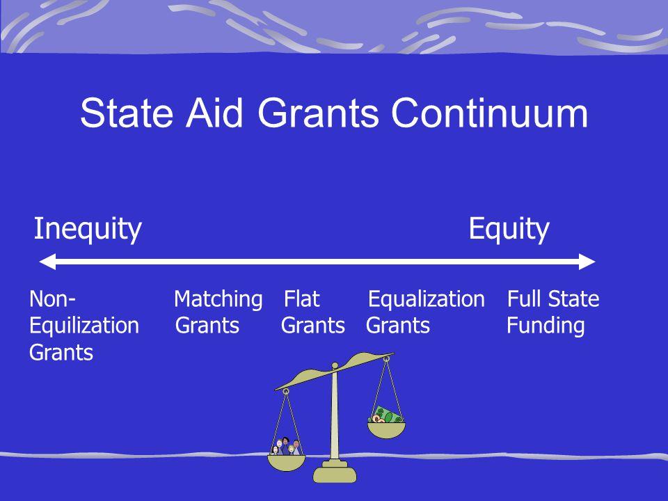 State Aid Grants Continuum
