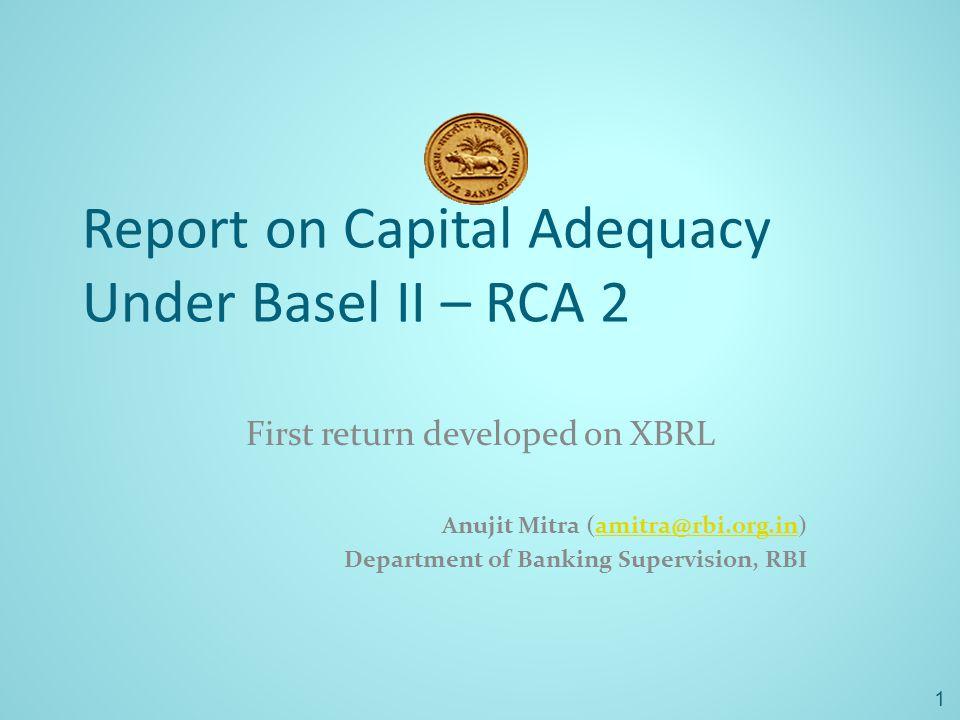 First return developed on XBRL