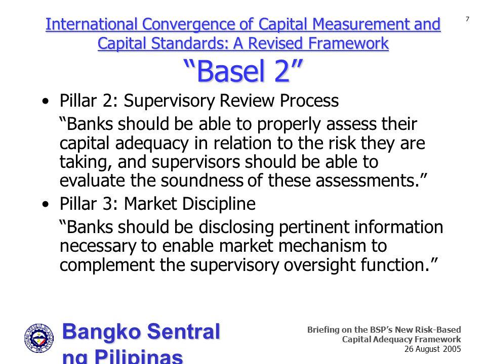 Pillar 2: Supervisory Review Process