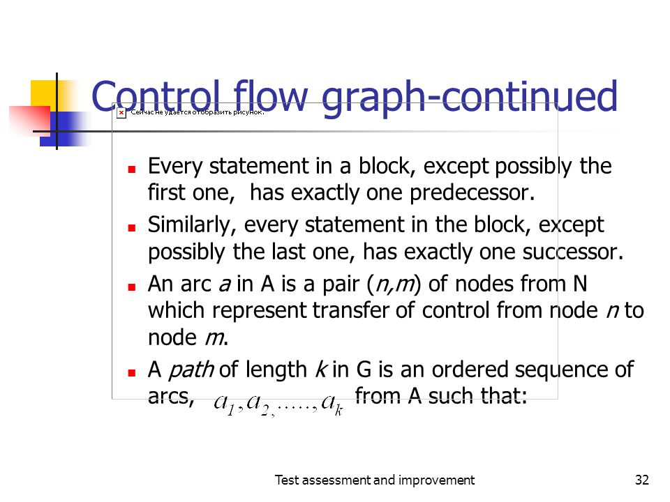 Control flow graph-continued