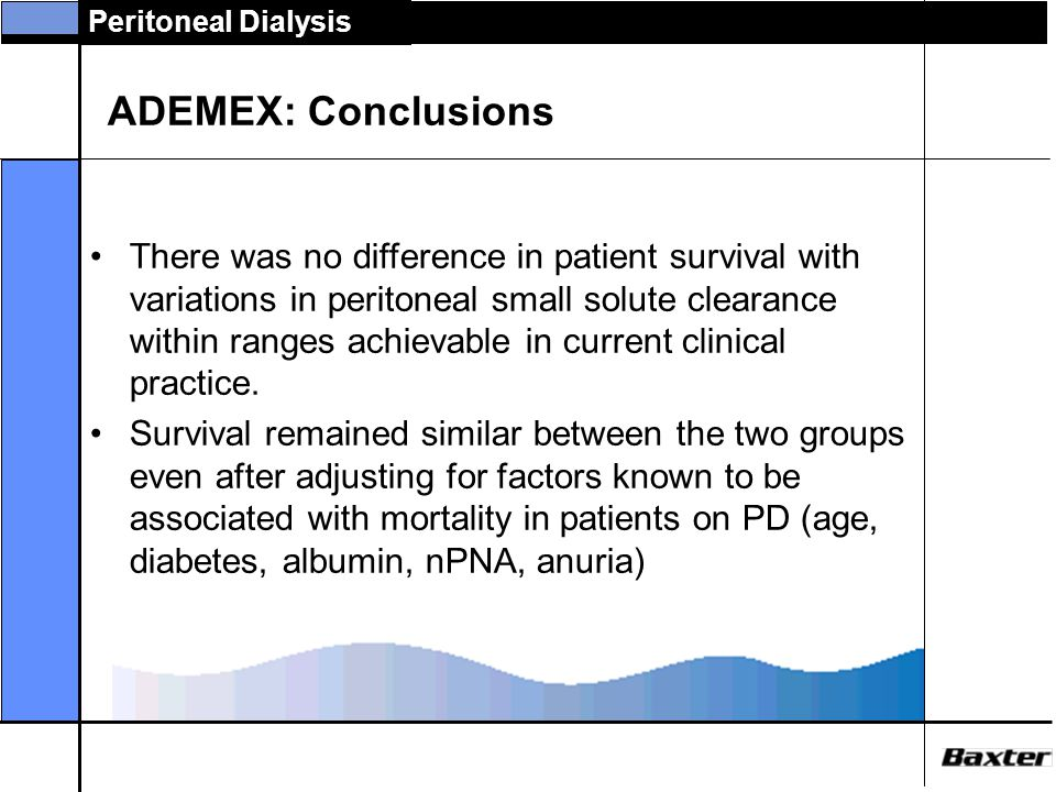 ADEMEX: Conclusions