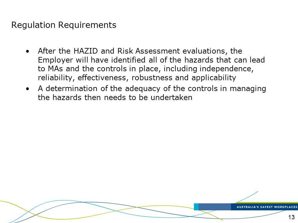 Regulation Requirements