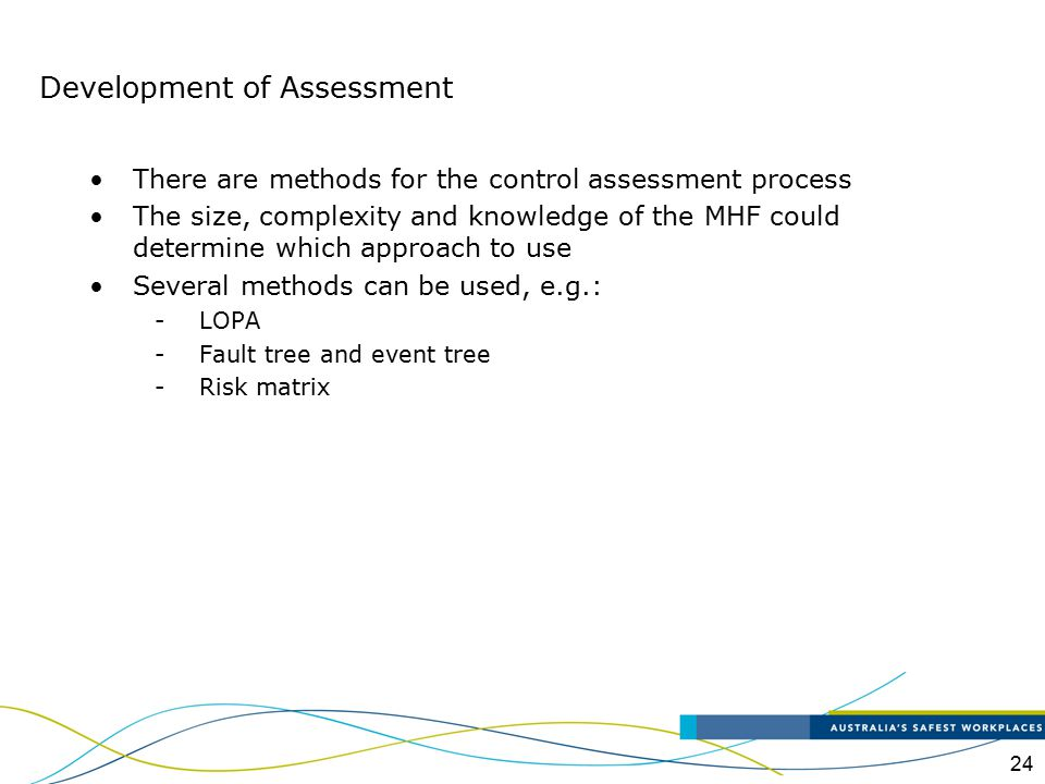 Development of Assessment