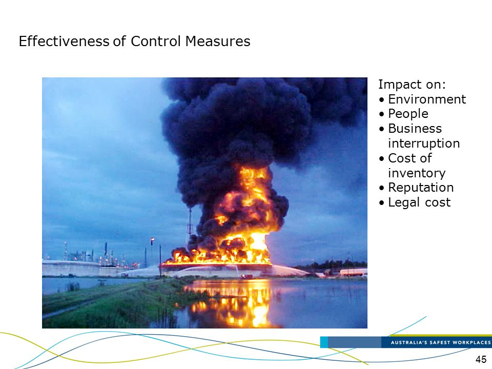 Effectiveness of Control Measures
