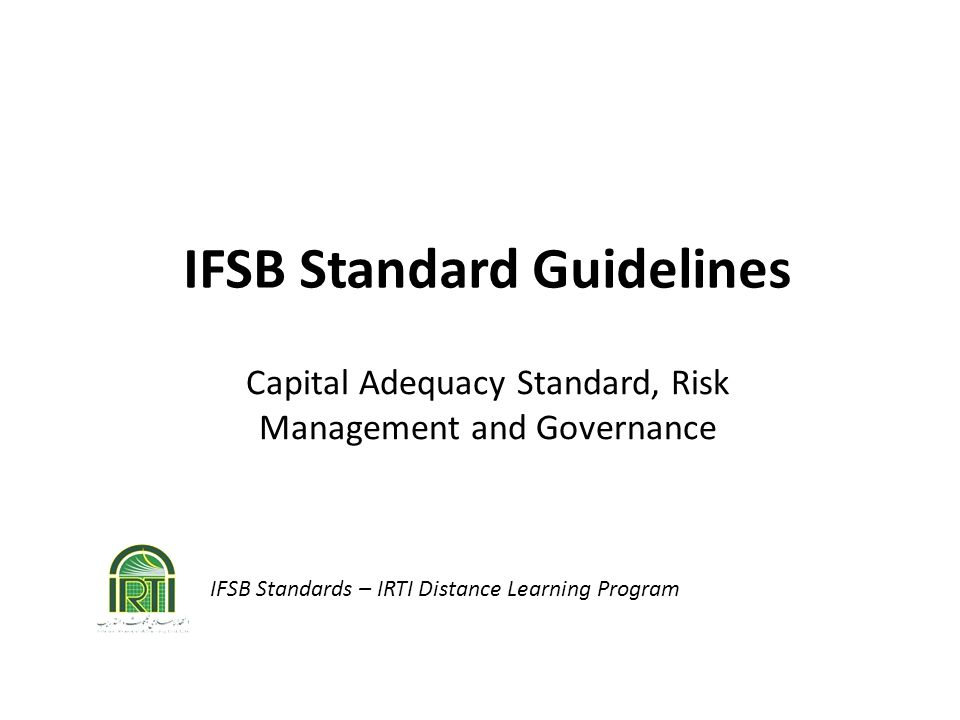 IFSB Standard Guidelines