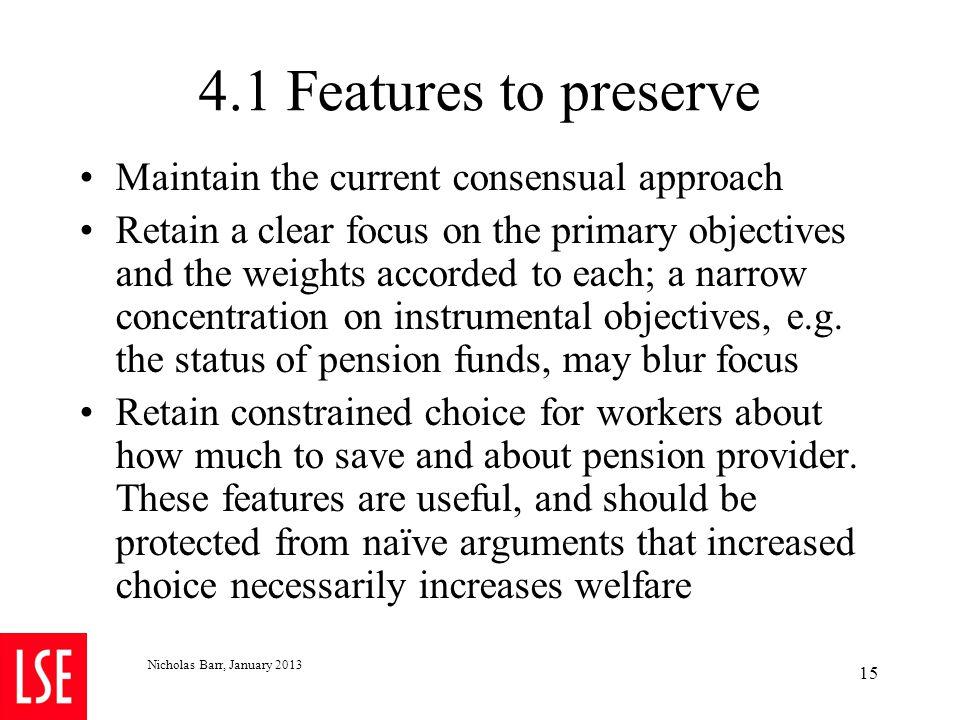 4.2 Recommendation 1: Later retirement but more flexible retirement