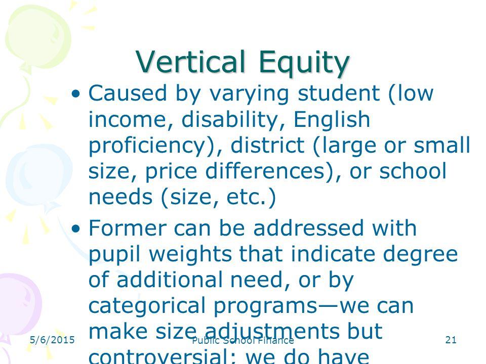 4/14/2017 Vertical Equity.